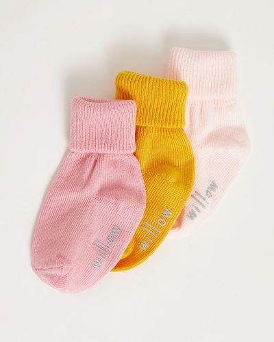 Leigh Tucker Willow Ali Baby Socks - Pack Of 3