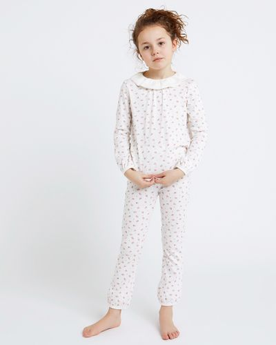 Leigh Tucker Willow Edie Frill Collar Pyjamas