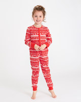 red Leigh Tucker Willow North Fairilse Onesie