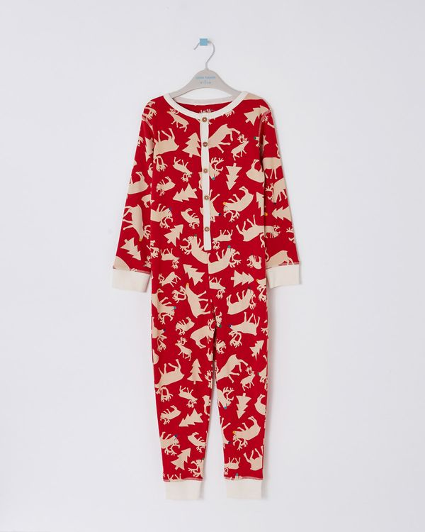 Leigh Tucker Willow Blitzen Family Kids Onesie