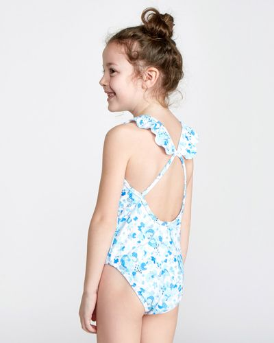 Leigh Tucker Willow Rey Floral Print Swimsuit