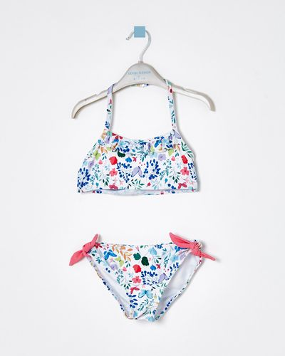 Leigh Tucker Willow Natalli Floral Print Bikini