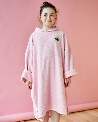 Leigh Tucker Willow Unisex Towelling Poncho (4-11 years)