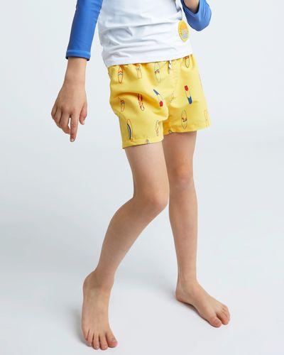 Leigh Tucker Willow Baja Boys Swim Shorts