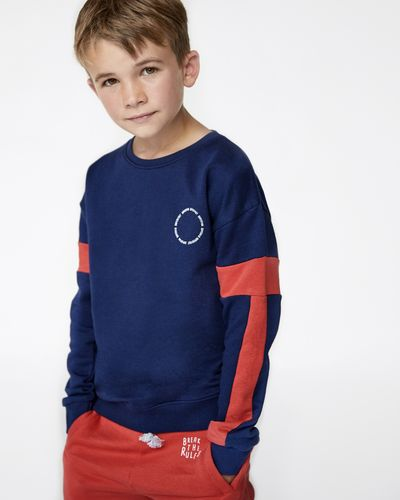 Leigh Tucker Willow Corbin Crew-Neck Sweatshirt