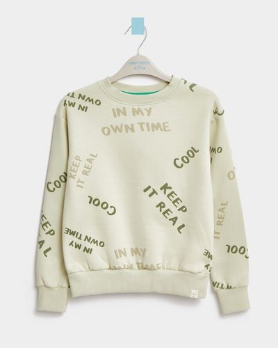 Leigh Tucker Willow Mike Crewneck Jumper (3-13 years)