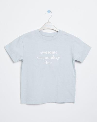 Leigh Tucker Willow Maison Cotton T-Shirt (3-13 years)