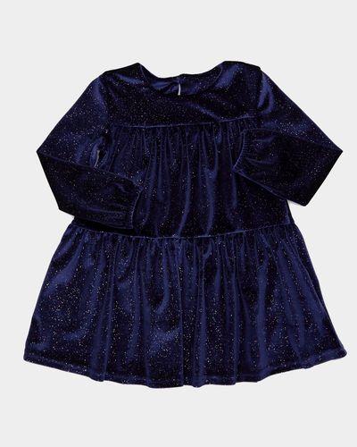 Girls Velour Dress (6 months - 4 years)