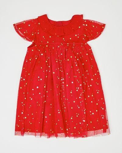 Mesh Collar Dress (6 months-4 years)
