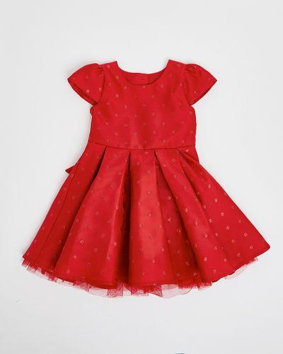 Spot Brocade Dress (6 months-4 years)