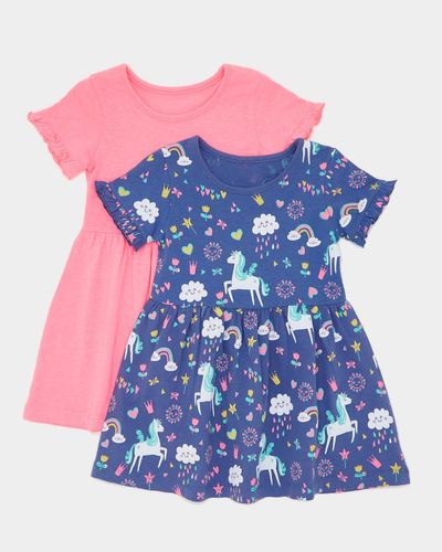 Jersey Dress - Pack Of 2 (6 months-4 years) thumbnail