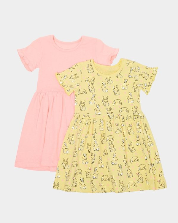 Jersey Dress - Pack Of 2 (6 months-4 years)