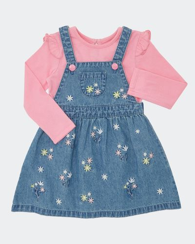 Embroidery Dress Set (6 months - 4 years)