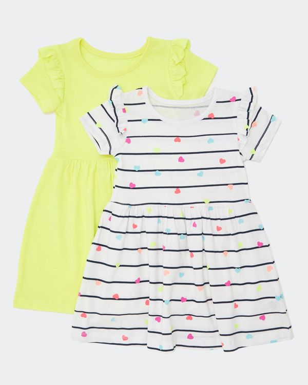 Frill Dress - Pack Of 2 (6 months-4 years)