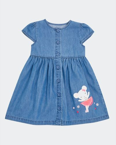 Denim Mouse Dress (6 months-4 years)
