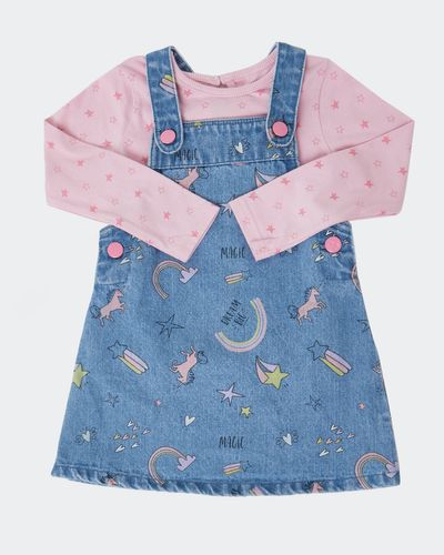 Denim Pinny Set (6 months-4 years)