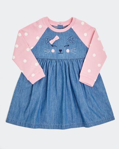 Denim Mouse Dress (6 months-4 years) thumbnail