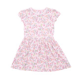 pink Toddler Printed Jersey Sun Dress