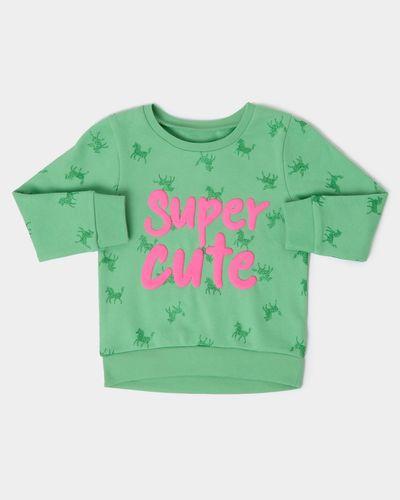Unicorn Sweatshirt (6 months-4 years) thumbnail
