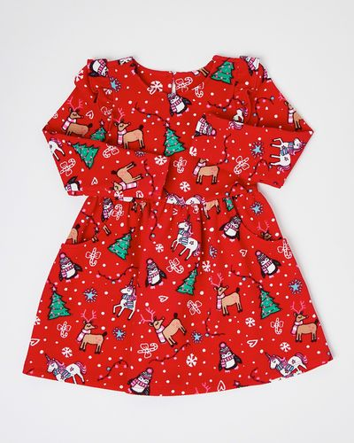 Christmas Ponte Dress (6 months-4 years)