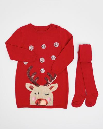 Reindeer Dress Set (6 months-4 years)