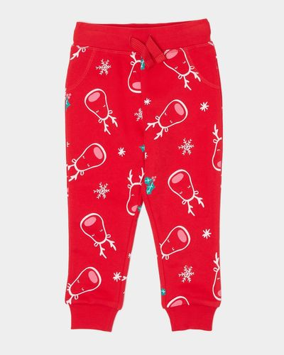 Christmas Printed Jogpants (0 months - 4 years)