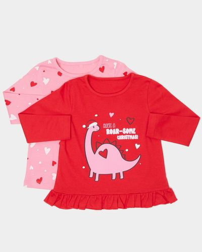 Christmas Tops - Pack Of 2 (0 months - 4 years)