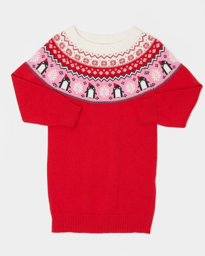 Fair Isle Knit Dress (6 months-4 years)