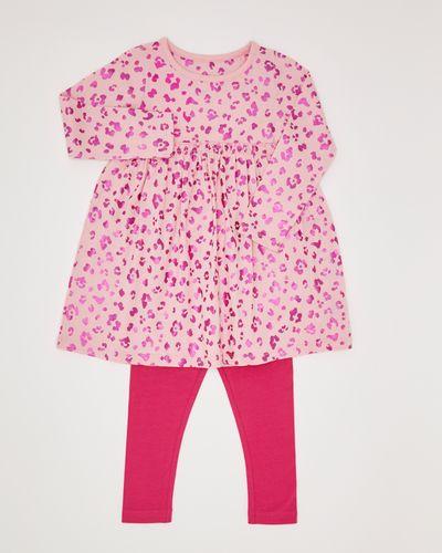 Girls Animal Dress Set (6 months-4 years)
