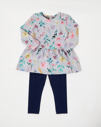 Floral Print Set (6 months-4 years)