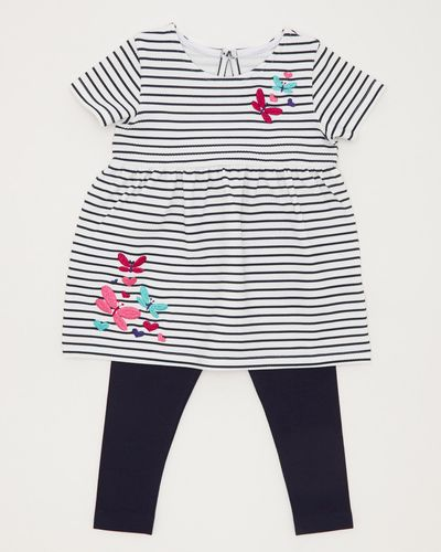 Stripe Tunic And Legging Set (6 months-4 years)