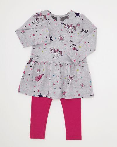Unicorn Print Tunic Set (6 months-4 years)