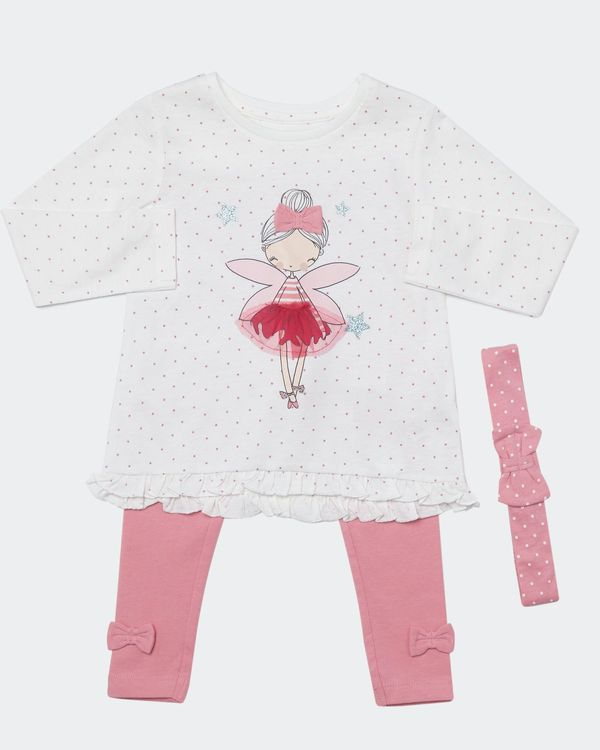 Fairy Three-Piece Set (Newborn-4 years)