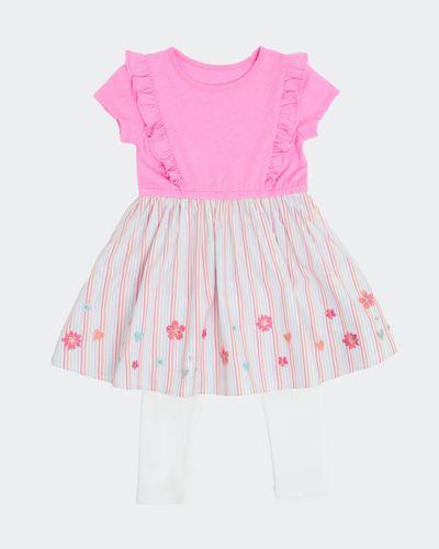 Stripe Dress Set (6 months-4 years)