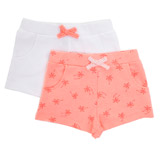 coral Fleece Shorts - Pack Of 2