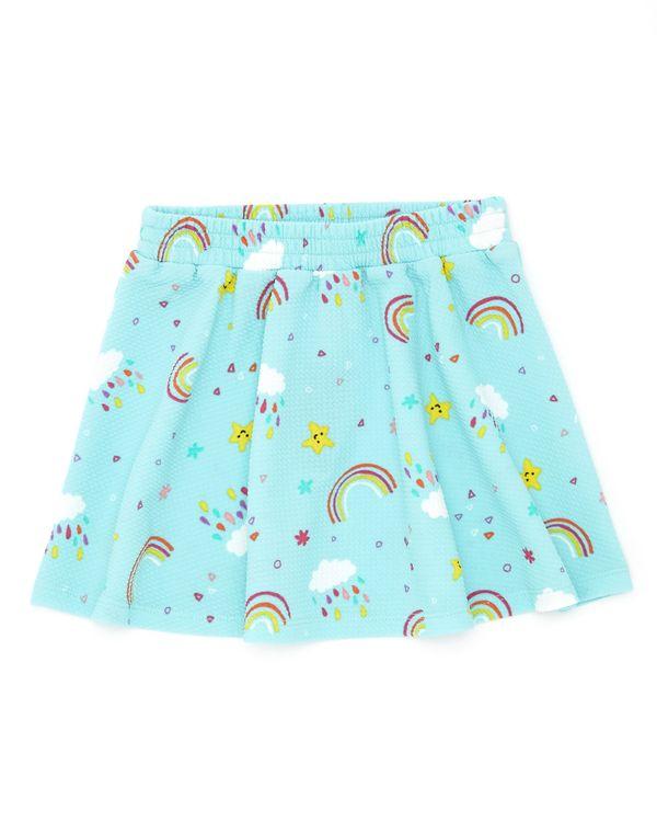 Ponte Print Skirt (6 months - 4 years)