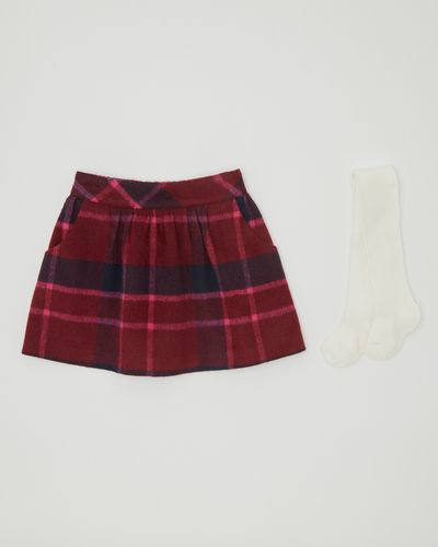 Check Skirt Set (6 months-4 years)