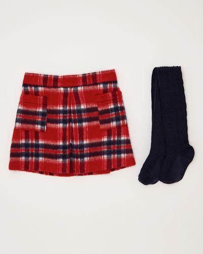 Girls Check Skirt (6 months-4 years)