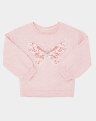 Butterfly Sweatshirt (6 months-4 years) thumbnail
