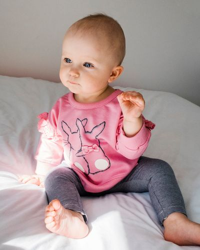 Bunny Sweatshirt (6 months-4 years) thumbnail