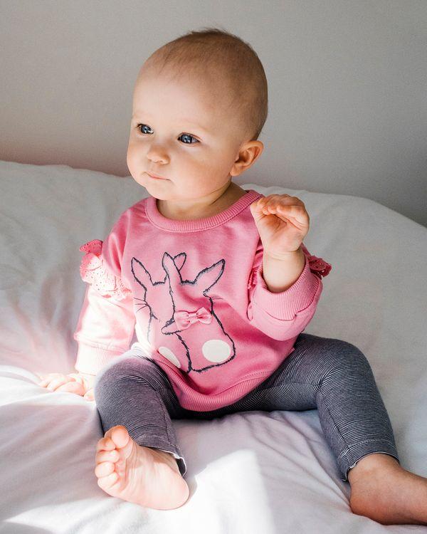 Bunny Sweatshirt (6 months-4 years)