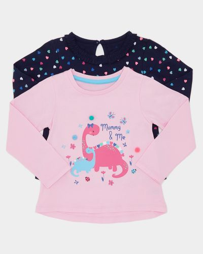 Long-Sleeved Top - Pack Of 2 (6 months-4 years)