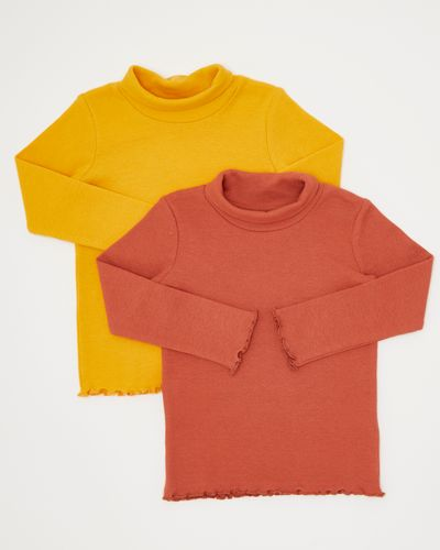 Rollneck Tops - Pack Of 2 (6 months-4 years)