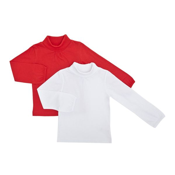 Toddler Polo Necks - Pack Of 2