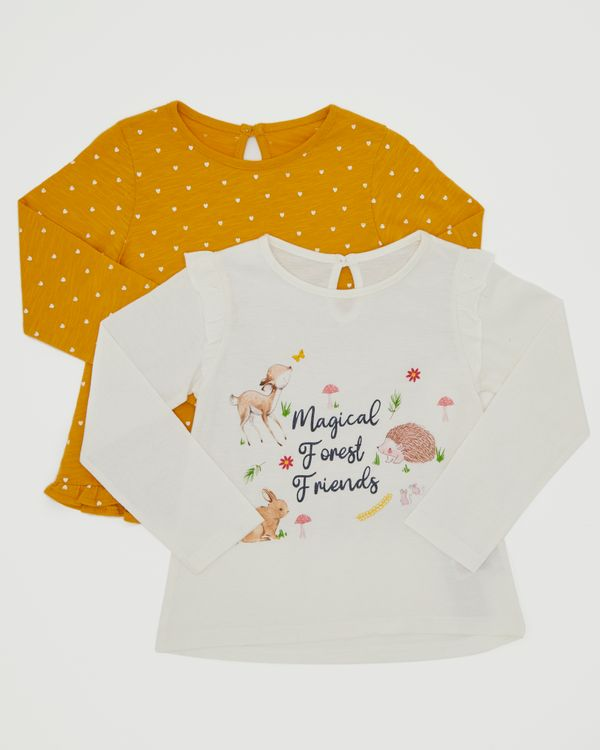 Long Sleeve Top - Pack Of 2 (6 months-4 years)