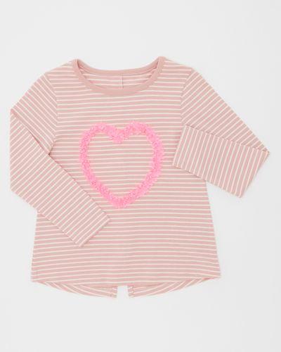 Girls 3D Heart Top (6 months-4 years)