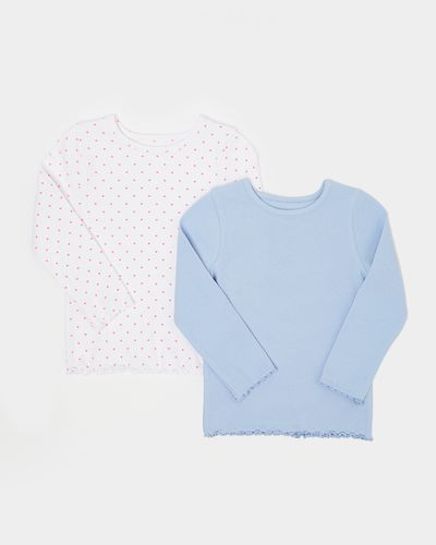 Ribbed Top - Pack Of 2 (6 months-5 years)