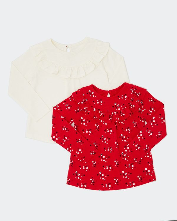 Frill Top - Pack Of 2 (0 months - 4 years)