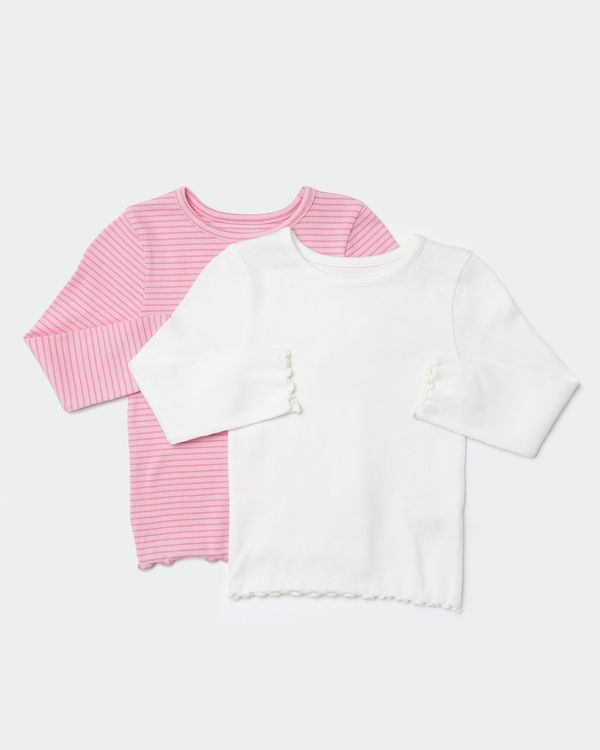 Rib Top - Pack Of 2 (0 months-4 years)