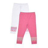 cerise Toddler Legging - Pack Of 2